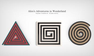 Alice in Wonderland Pot Stand by sasoham_01