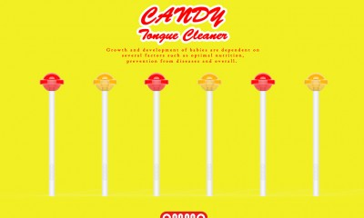 OMMO Candy Tongue Cleaner by sasoham_03